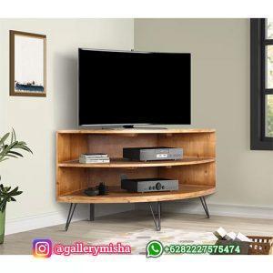 Bufet TV Sudut Minimalis