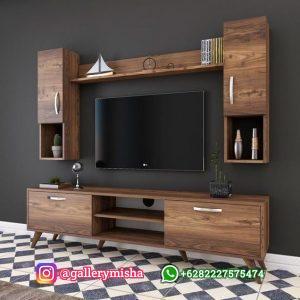 Cabinet TV Stand Modern Retro