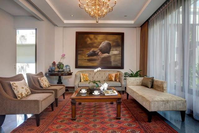 desain interior ruang tamu 3