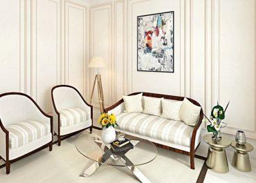 7 Inspirasi Dekorasi Interior Ruang Tamu Simpel Yang Elegan
