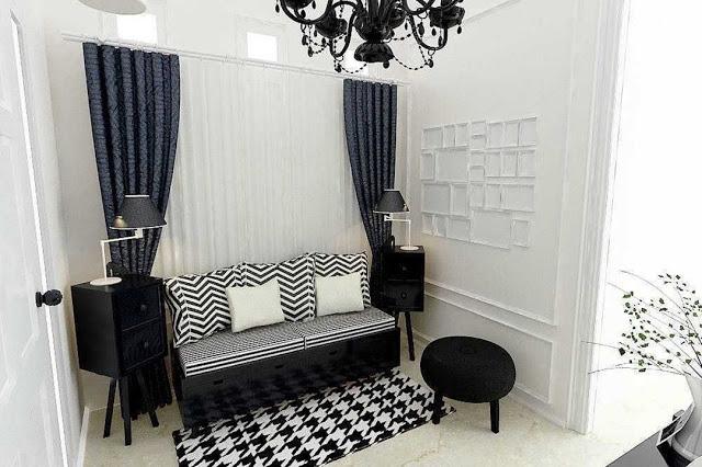 desain interior ruang tamu 6