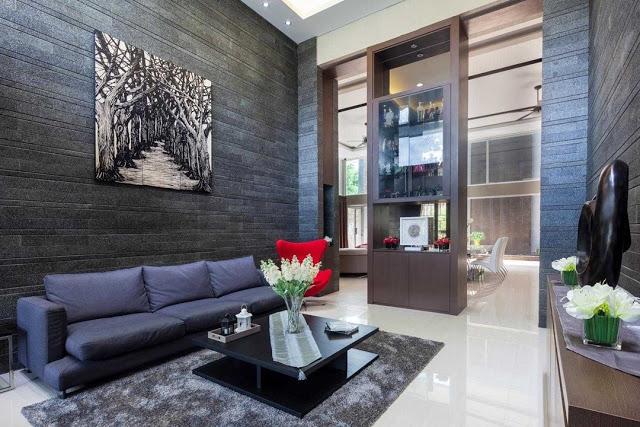 desain interior ruang tamu 2