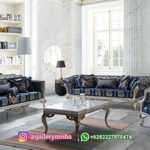 Kursi Tamu Sofa Chester Mewah Terbaru