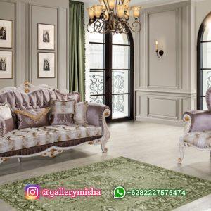Kursi Tamu Sofa Mewah Klasik Laberta