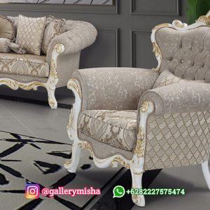 Kursi Tamu Sofa Mewah Klasik Maison