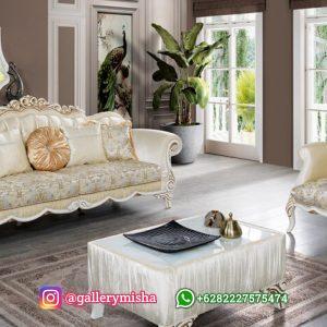 Sofa Tamu Mewah Klasik Daniel