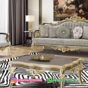 Sofa Tamu Mewah Klasik Genta
