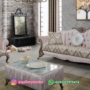 Sofa Tamu Mewah Reva Klasik